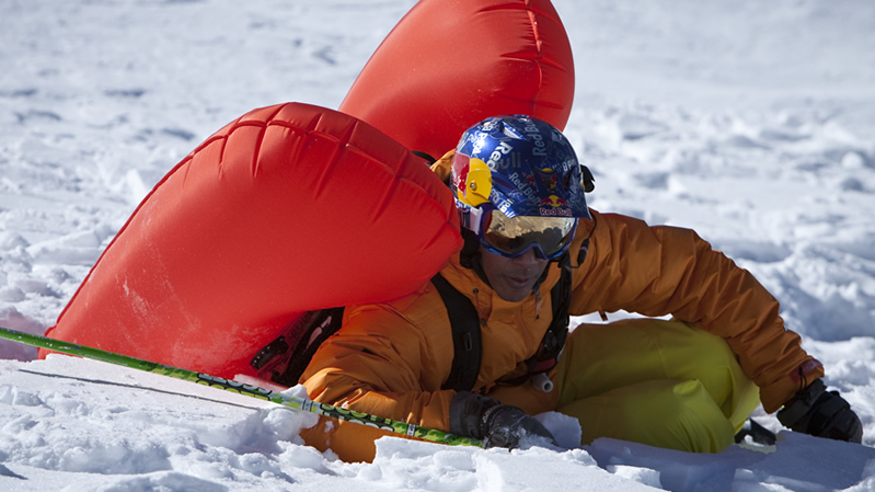 Avalanche Airbag Deployed