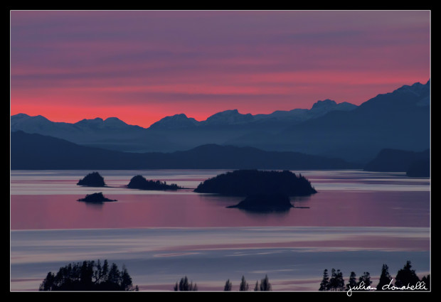 Lake Nahuel Huapi, Bariloche, Argentina.  photo:  Julian Donatelli