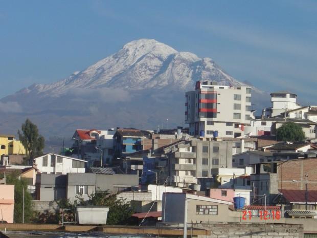 Chimborazo in Ecuator