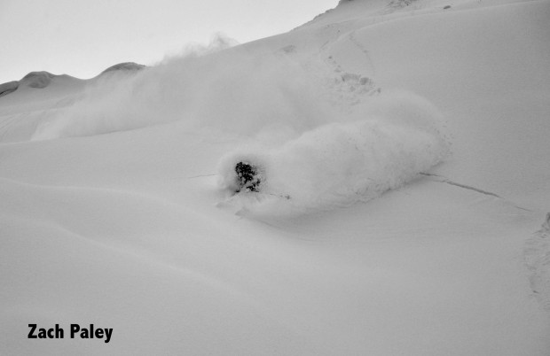 Dangerously deep snow in Japan 2013.  photo:  Zach Paley