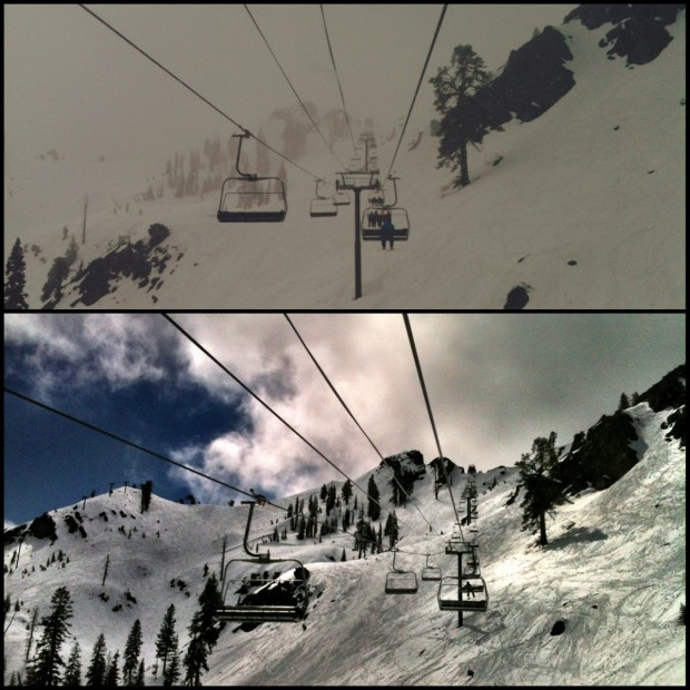 Snow and sun on the schedule for Squaw