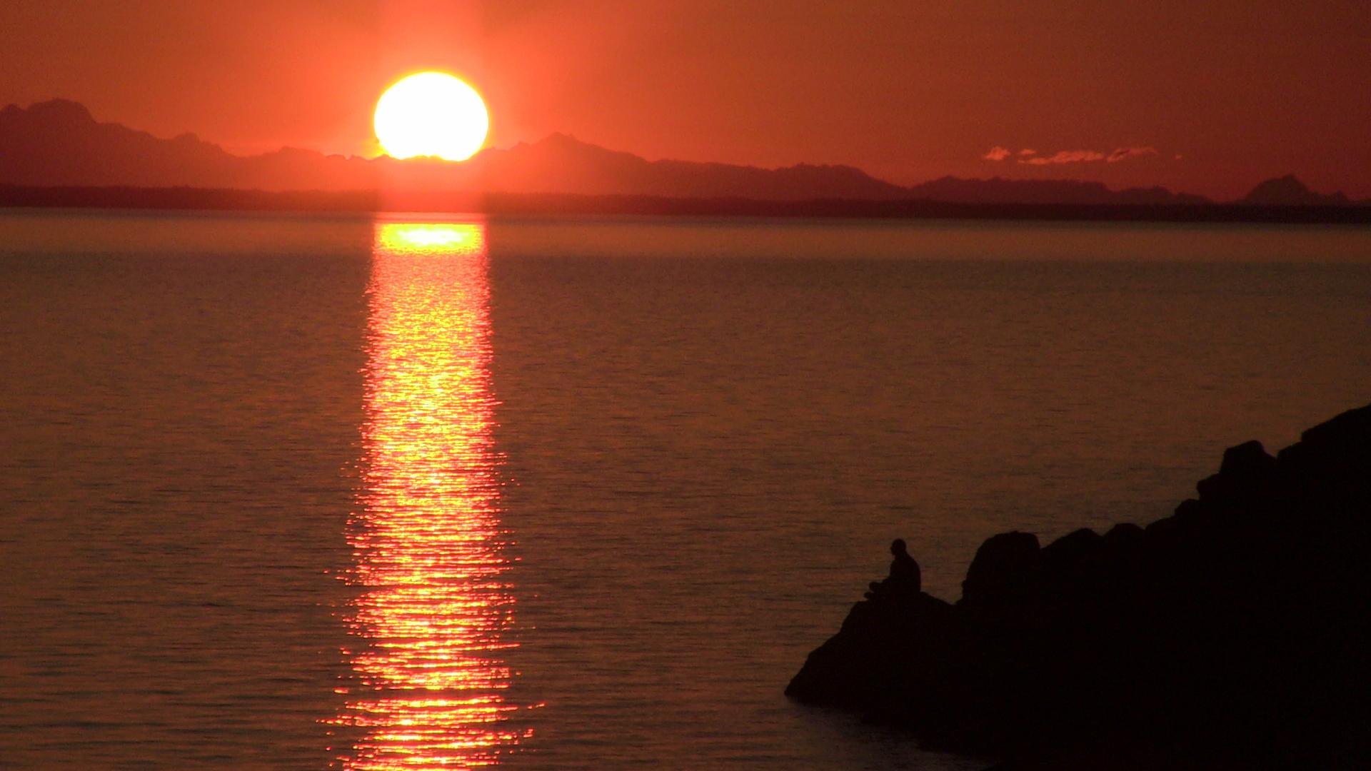 Turnagain Arm Alaska Sunset Snowbrains Com