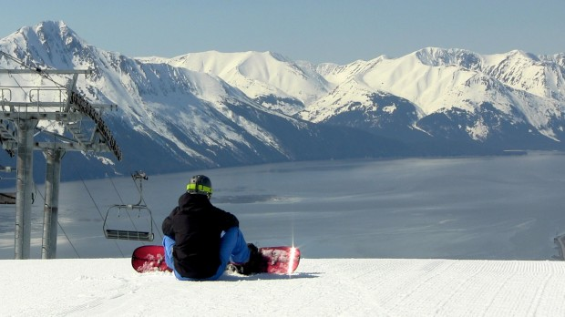 Alyeska spring 2012.  photo:  snowbrains