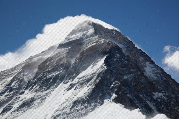 Mount Everest.  photo:  Simone Moro