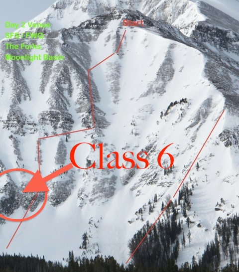 Class 6 is so gnarly, that it was excluded from the 2013 Freeride World Tour Qualifier competition