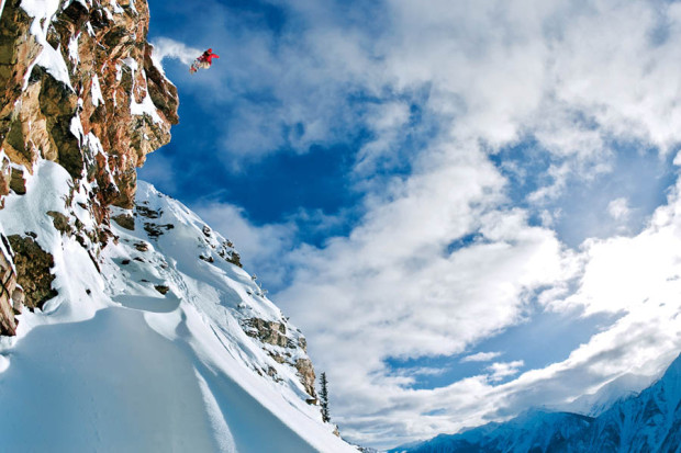 Sylvain Bourbousson, Kicking Horse, B.C., Canada. Photo: Eric Bergeri