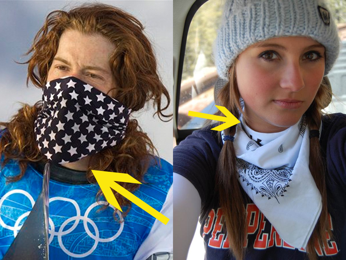 Shaun White Sports A Bare Neck While This Lovely Model Shows Why Her Under Armour Was