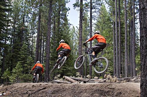 Corral Trail mountain biker