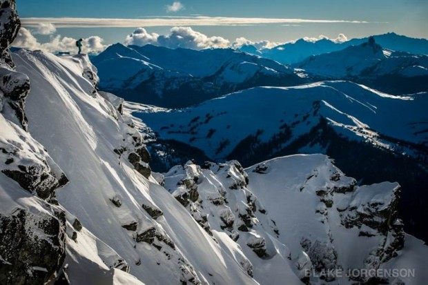 Disease Ridge @ Blackcomb.  photo:  Black Jorgenson/Whistler Blackcomb