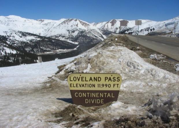 stock photo of Loveland Pass, Colorado