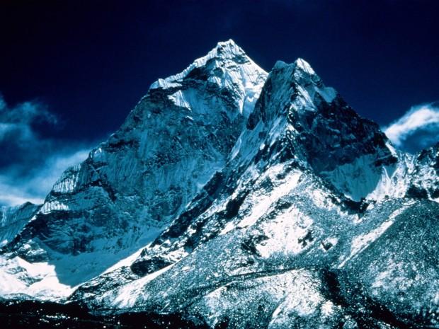 Mt Everest and Lhotse