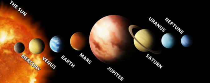 labeled planets biggest to smallest - photo #5