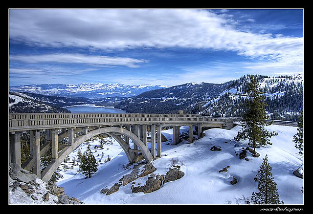 Racing Over the Sierras by Car After the Record Winter of ...