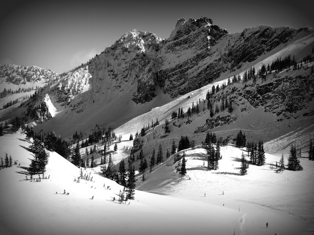 Devil's Castle. Alta, UT. photo: MelYW