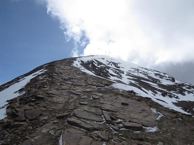 Chacaltaya ski run in March 2011