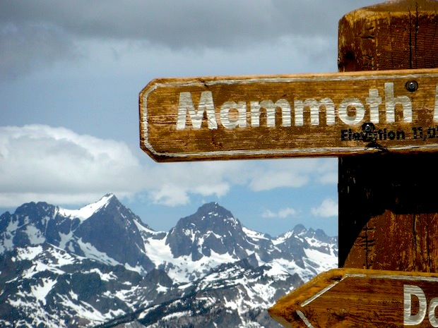 Mammoth conditions report 3 100 vertical feet of good for Chair 23 mammoth