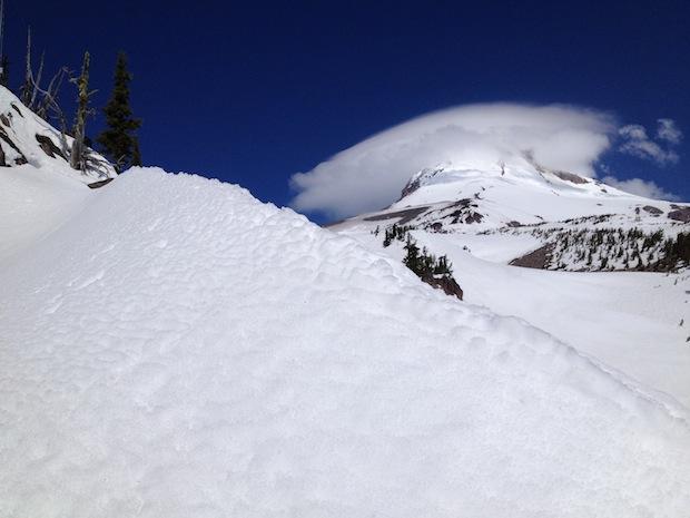 Mt Hood with Lenticular