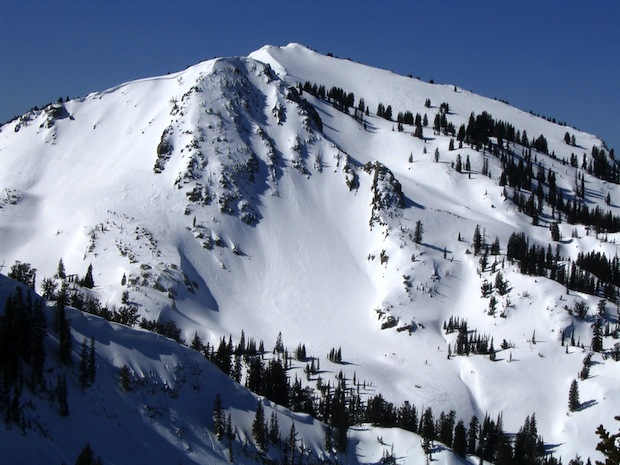 Tuskadora from Brighton ski resort. Sidecountry is unreal here. photo: