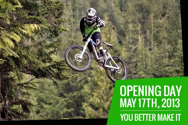 Whistler Mountain Bike Park Opening