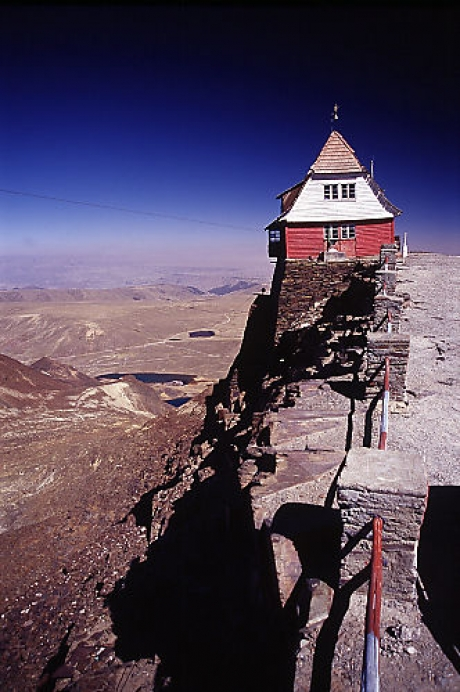 The World S Highest Elevation Ski Resort Chacaltaya