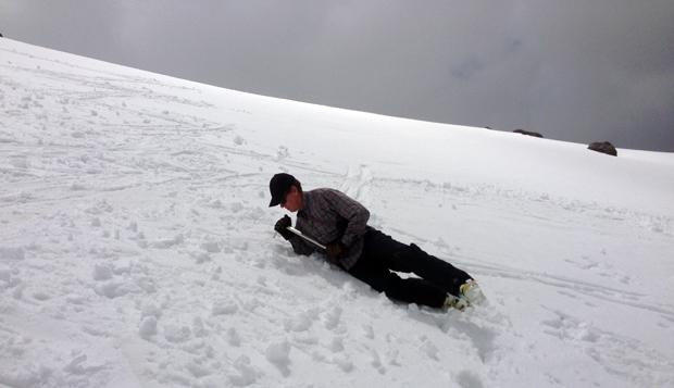 ice axe practice on shasta craig bryant