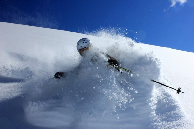 Park City is in Utah, so they get the deep, blower pow just like the other guys.