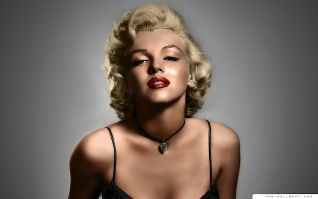 Marilyn turned heads