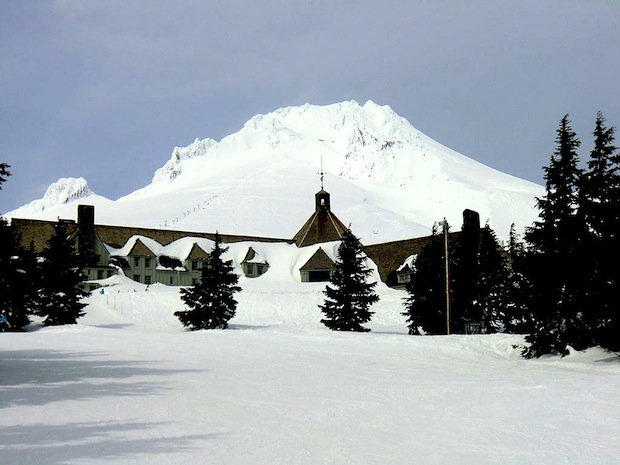 Timberline Lodge, OR, snowiest