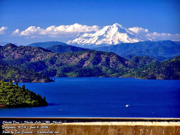 Lake Shasta with Mount Shasta