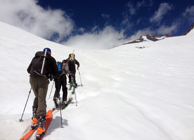 Mt. Shasta conditions - the skin up