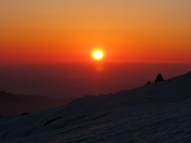 Success Cleaver Sunset.  photo: zeb blais