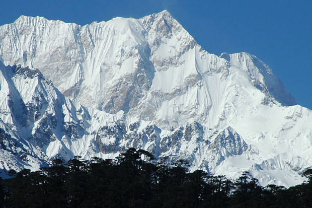 Kangchenjunga east face