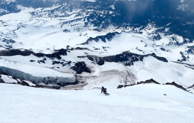 Zeb skiing Success.  photo: tyler jones