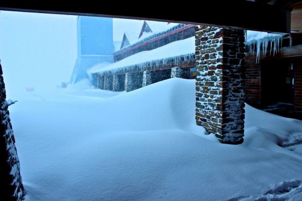 Cardrona big snow yesterday