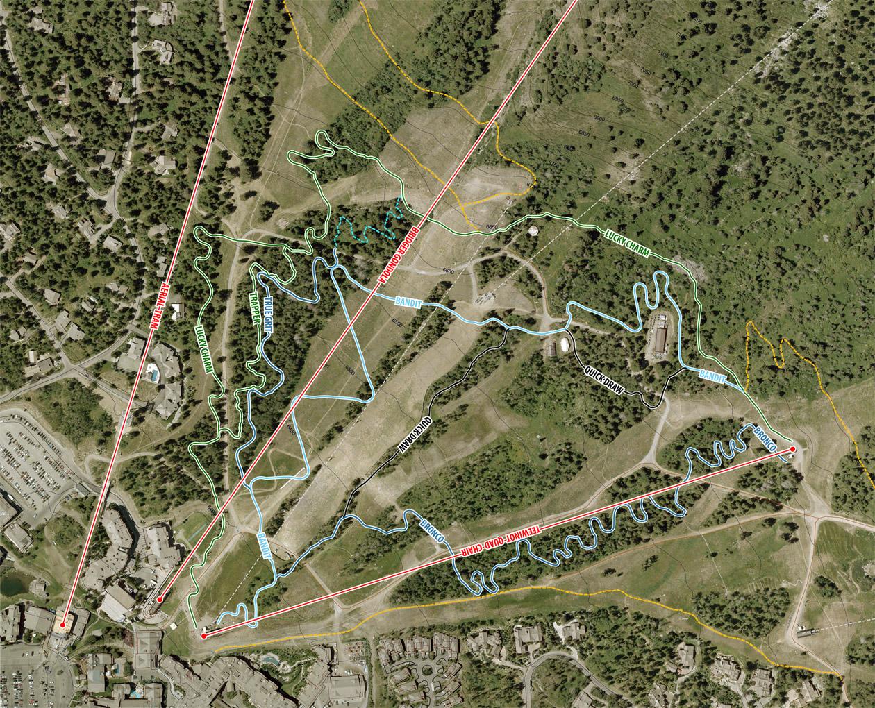 Jackson Hole Earthquake Jackson Hole Bike Park Map