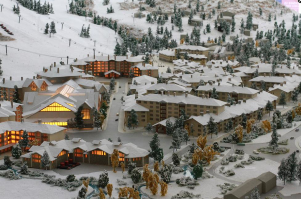 Proposed new Squaw village model.  photo:  moonshine ink