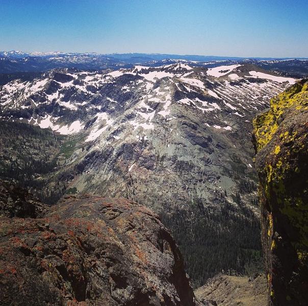 Deadwood Peak holding on to winter