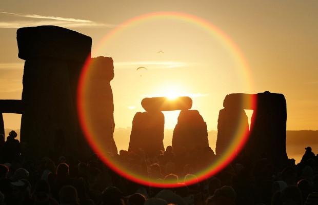 Stonhenge and a summer solstice celebration