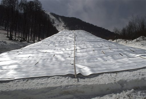 Stored Sochi Snow