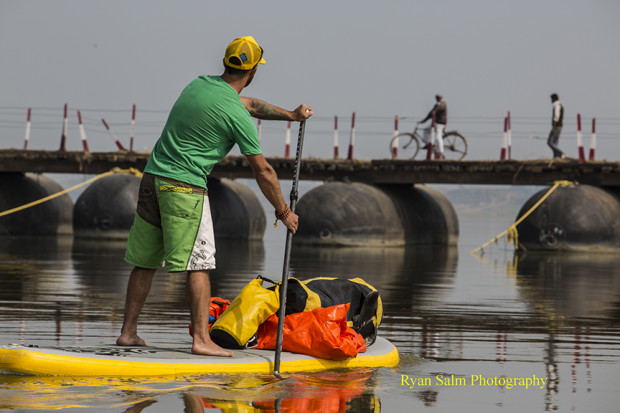 Paddle Boarding the Ganges River in 2013