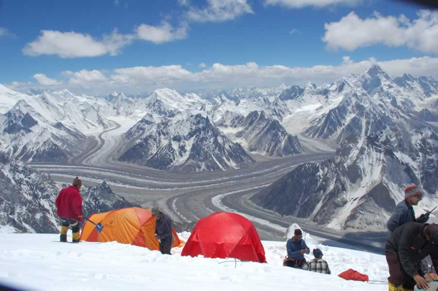background of a K2 camp  K2 Bodies