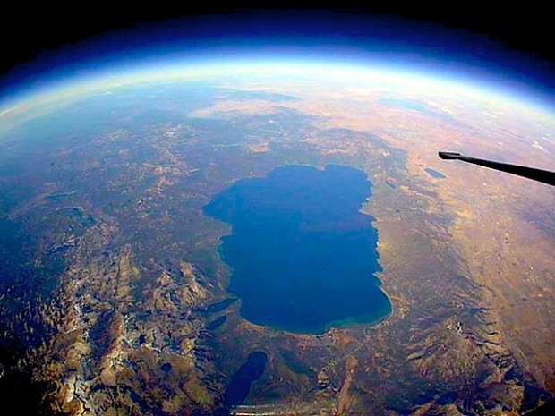 Lake Tahoe from space