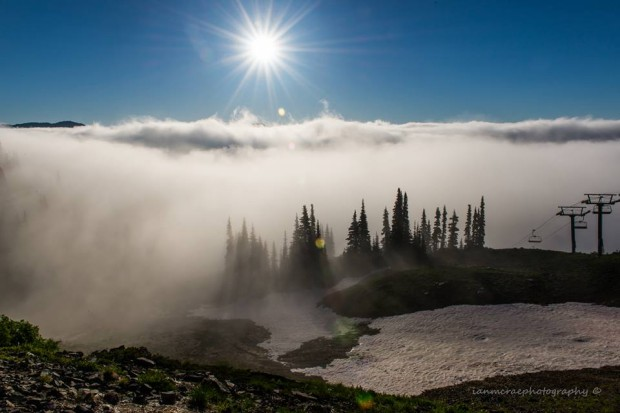 Crystal Mountain this summer.  photo: