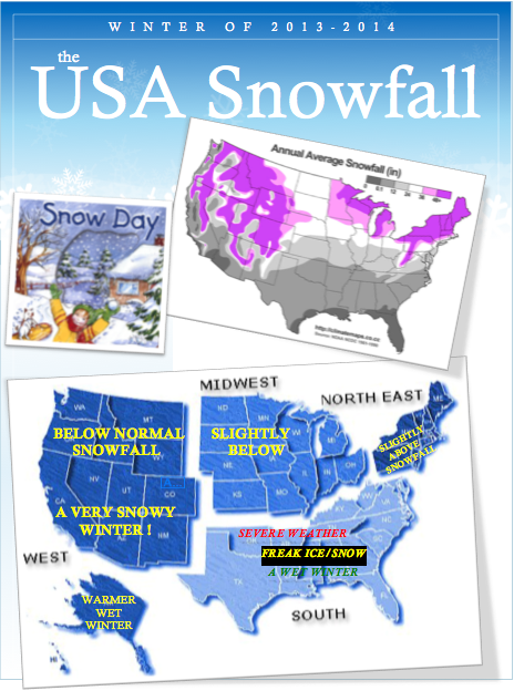 USA Winter Weather Forecast 2013-14 by Meteorologist Rob Guarino