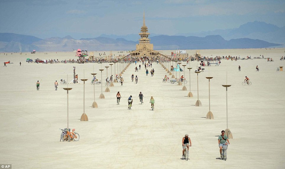 Burning Man. photo: dailymail.co.uk