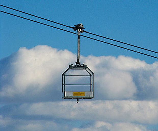 Cargo only cable car