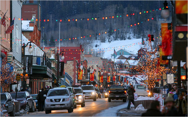 Park City, UT is nice.