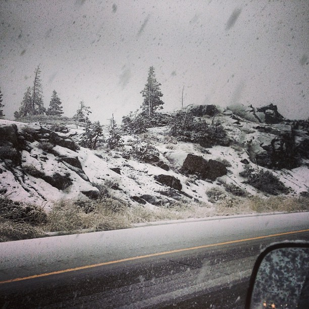 Donner Summit at 4pm PST, September 21st, 2013.  photo:  enrique bryant