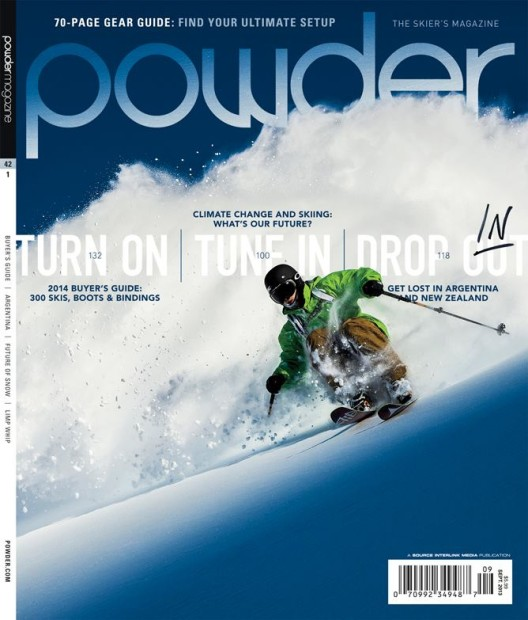 powder magazine review thoughts from the first issue snowbrains rh snowbrains com Ski and Snowboard Magazine Snowboard Magazine Facebook