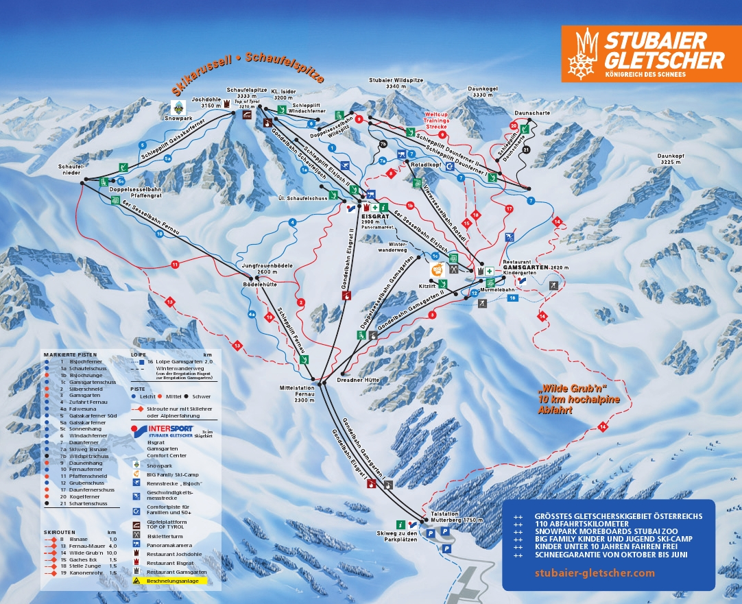 """austrian ski resort opens this friday with 4"""" of new snow - snowbrains"""
